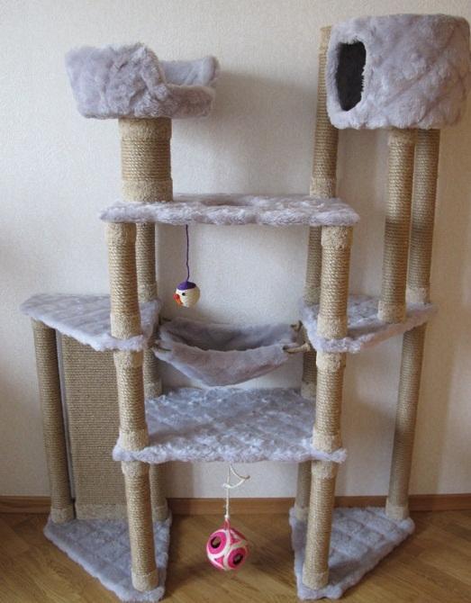 Сделать самим кошачий домик своими руками