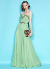 Дълго шифоновое рокля