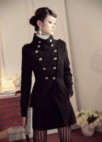 Дамско младежко палто
