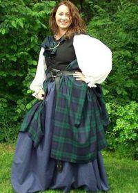 Националната дрехи шотландците