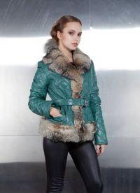 Зимни дамски кожени якета