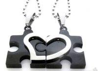 Двойка висулки за влюбени