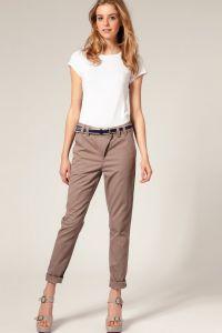 Съкратен дамски панталони