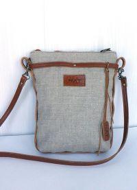 Женская сумка-планшет своими руками 7
