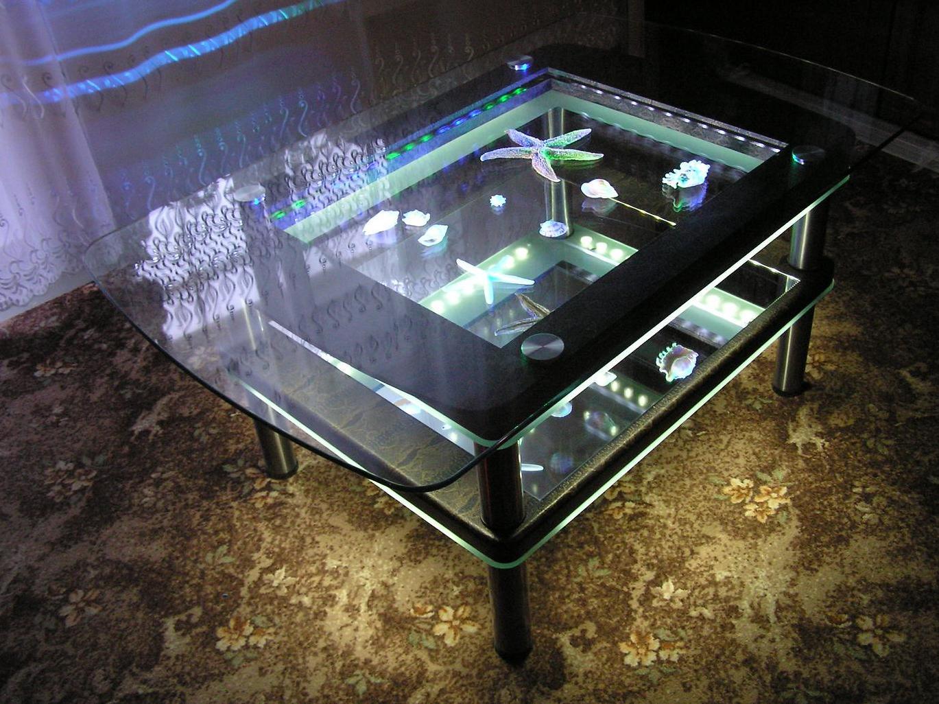 Сделать стол своими руками из стекла 356
