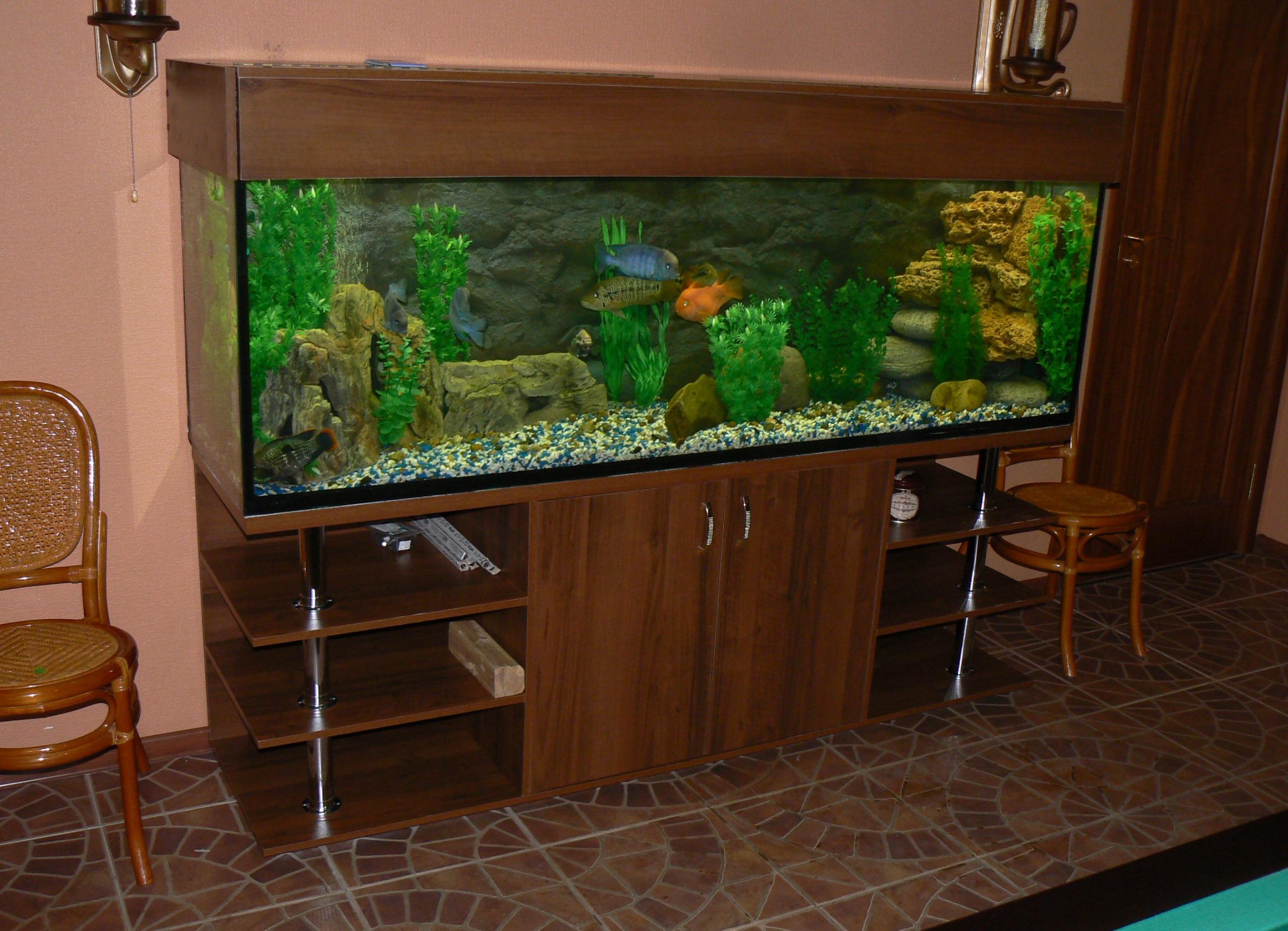 Как украсить аквариум своими руками 36