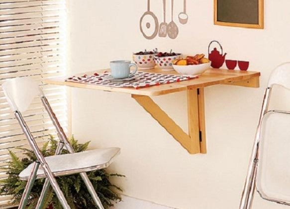 Откидной стол на кухне своими руками фото 97